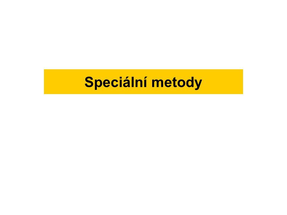 Speciální metody