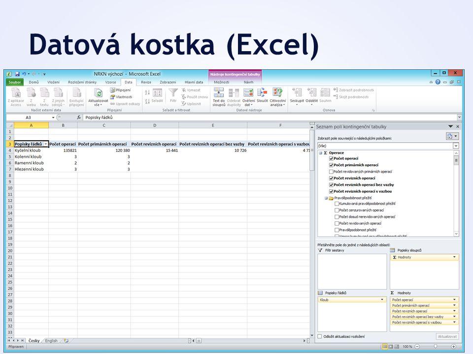 Datová kostka (Excel)