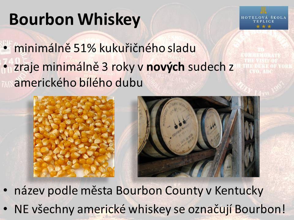 Americká Whiskey Jack Daniels Jim Beam Four Roses Wild Turkey Nejprodávanější severoamerická Whiskey