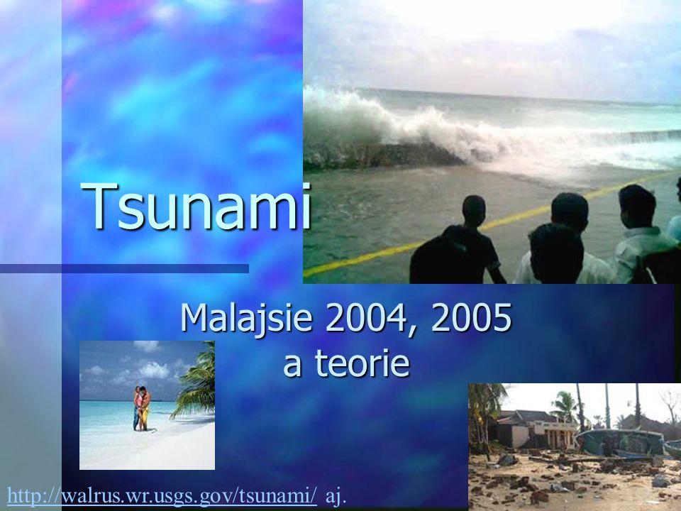 Tsunami Malajsie 2004, 2005 a teorie http://walrus.wr.usgs.gov/tsunami/http://walrus.wr.usgs.gov/tsunami/ aj.