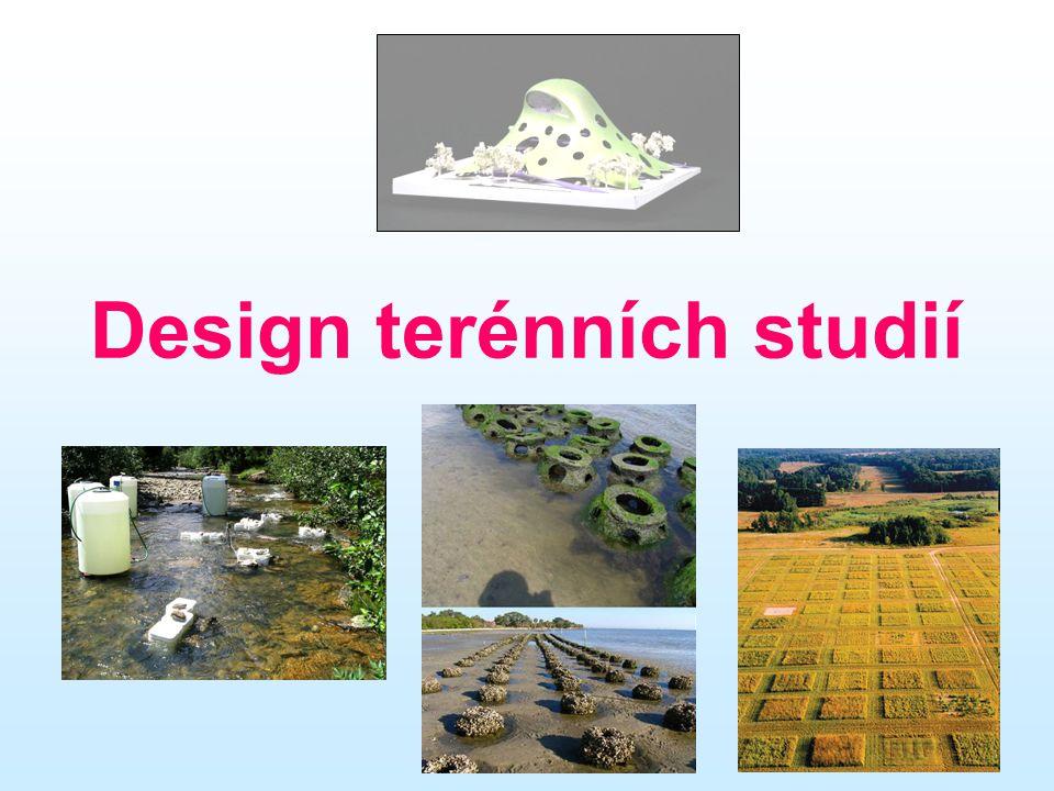 Design terénních studií