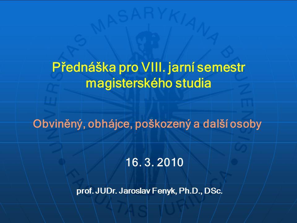 Přednáška pro VIII.