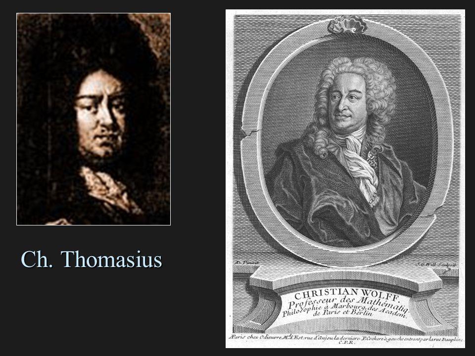 Ch. Thomasius