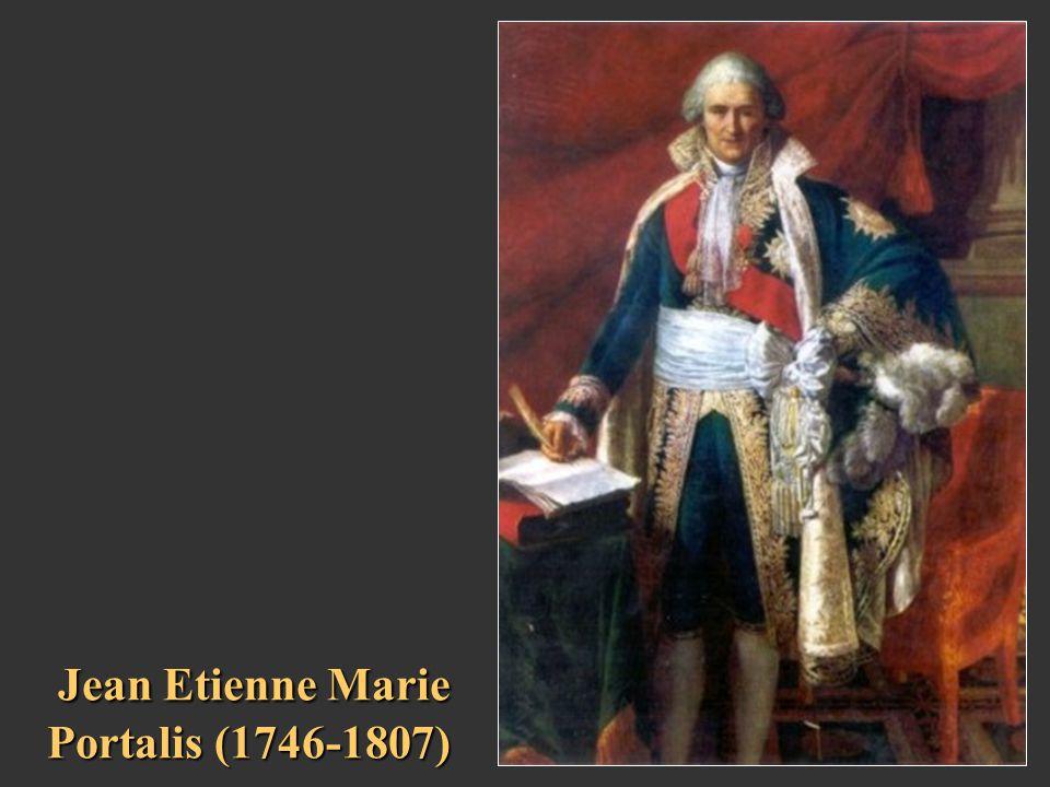 Jean Etienne Marie Portalis (1746-1807)