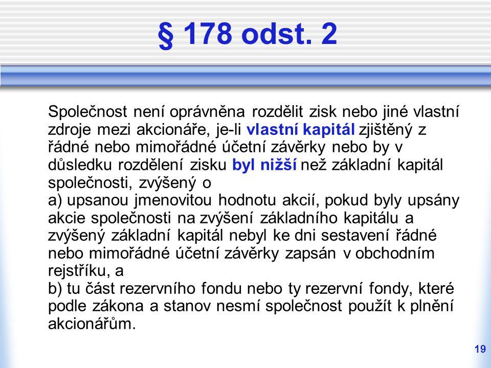 19 § 178 odst.