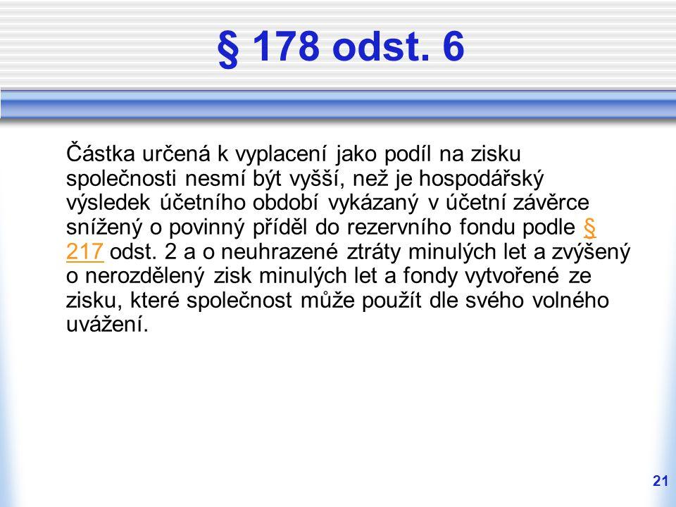 21 § 178 odst.