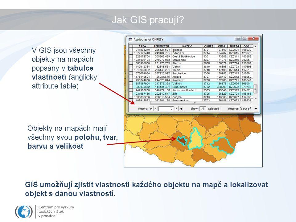 Jak GIS pracují.