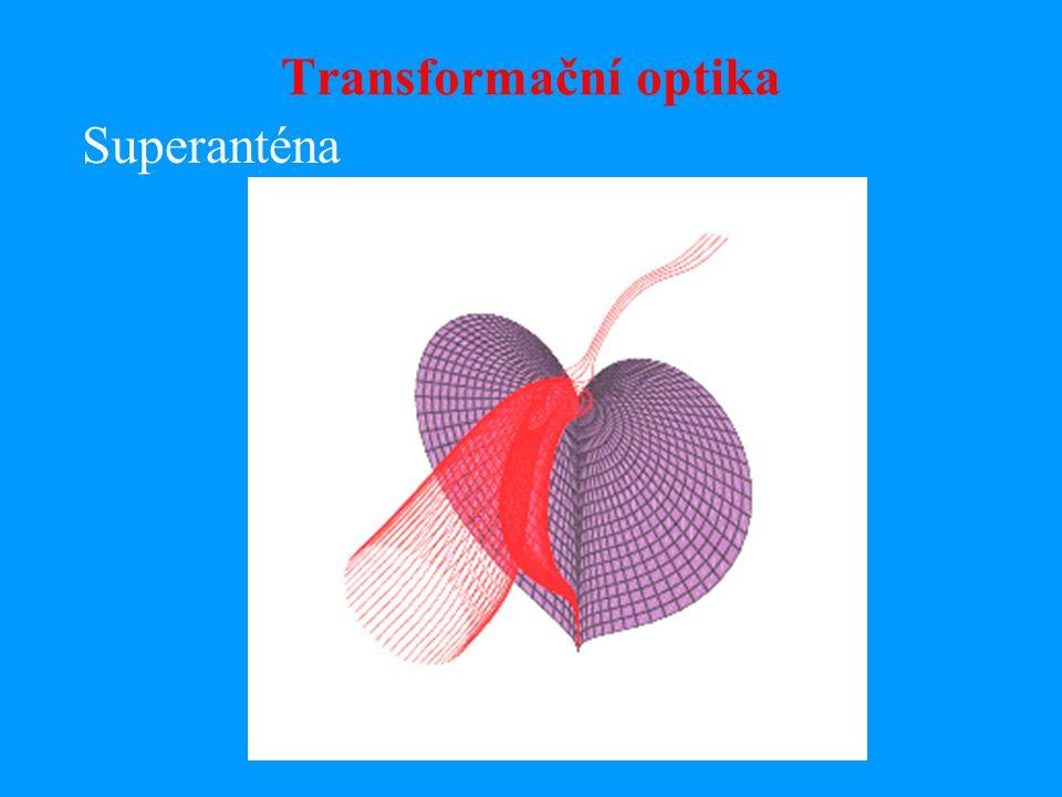 Transformační optika Neviditelnost