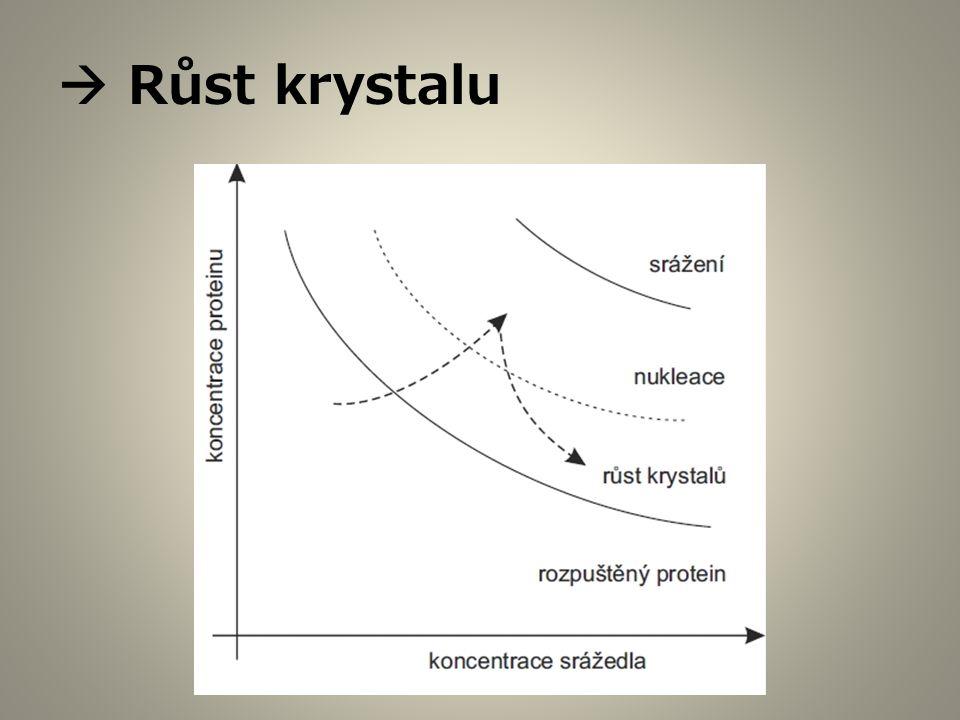  Růst krystalu