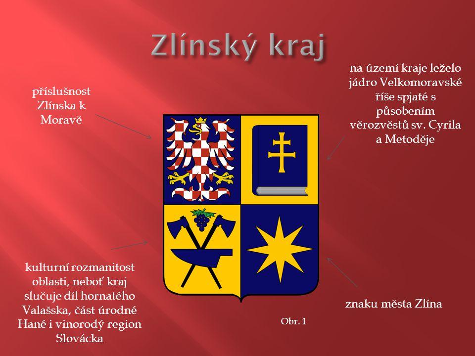 na území kraje leželo jádro Velkomoravské říše spjaté s působením věrozvěstů sv.