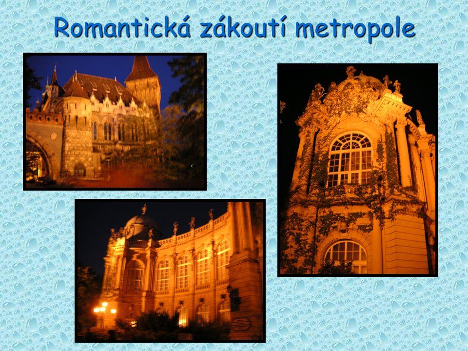 Romantická zákoutí metropole