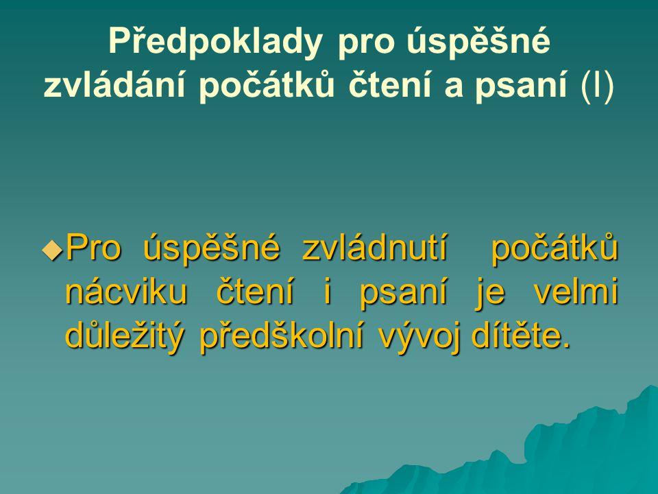 HYGIENICKÉ NÁVYKY PŘI ČTENÍ A PSANÍ (II) Co si pod pojmem správné hygienické návyky při čtení a psaní představit.