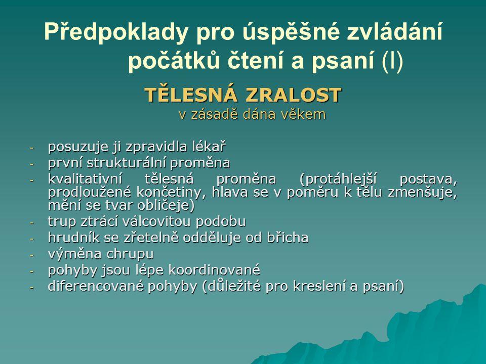 HYGIENICKÉ NÁVYKY PŘI ČTENÍ A PSANÍ (II) Informace: www.jak-spravne-psat.cz
