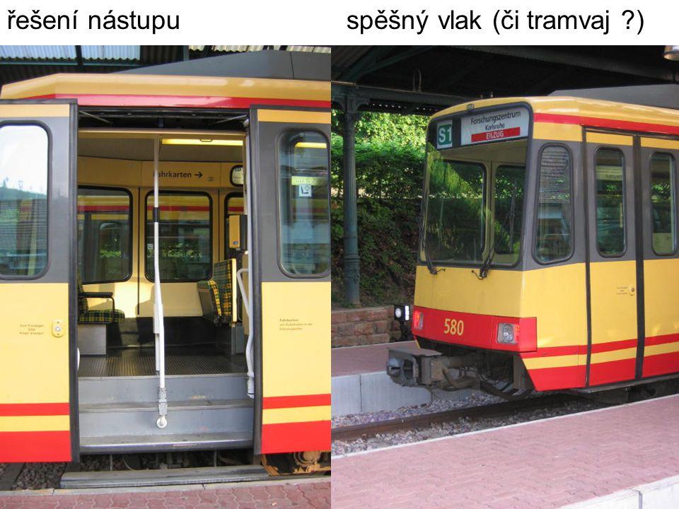 řešení nástupuspěšný vlak (či tramvaj )