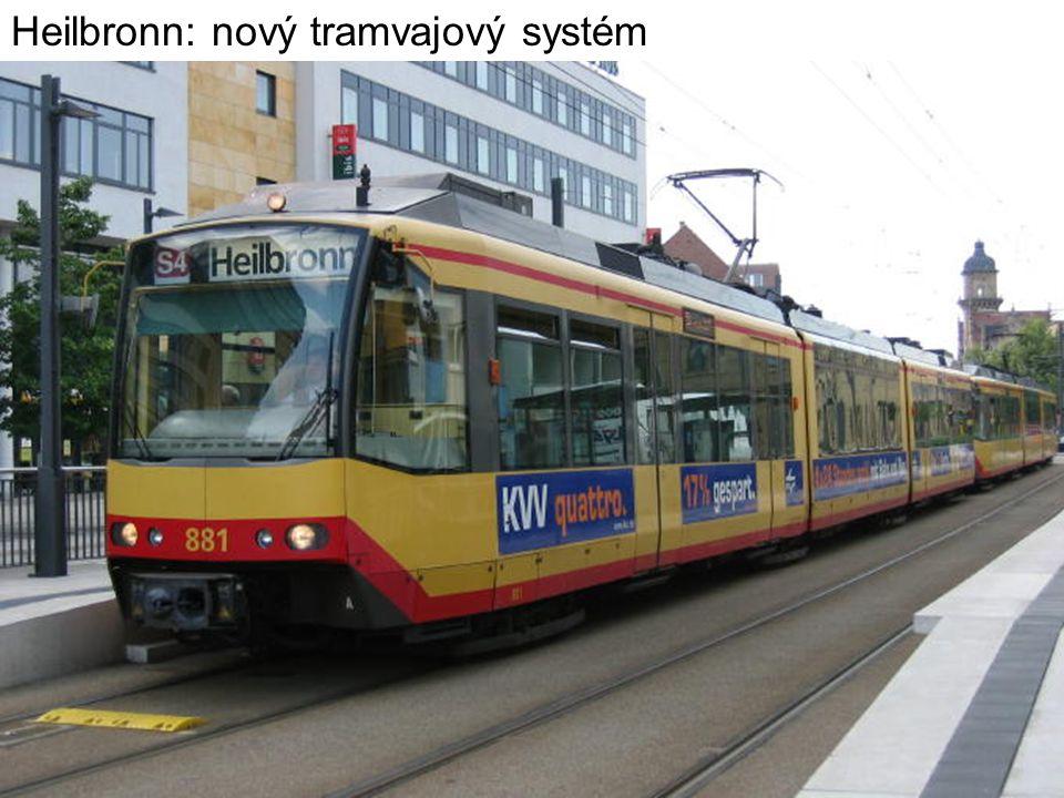 Heilbronn: nový tramvajový systém