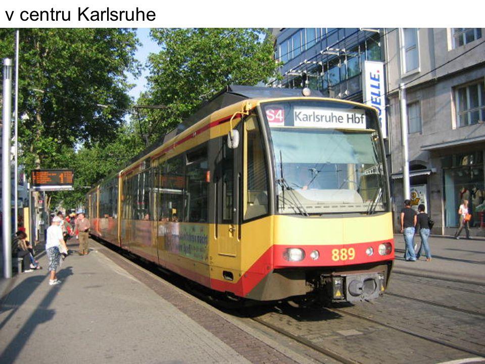 v centru Karlsruhe