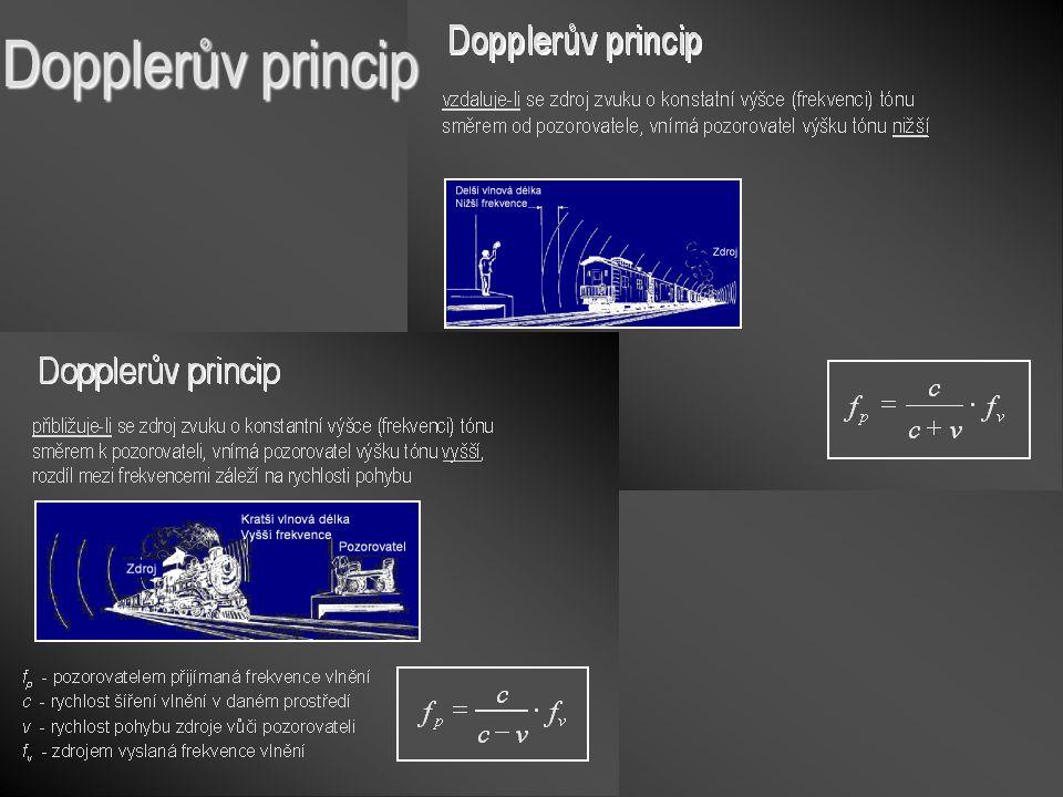Dopplerův princip