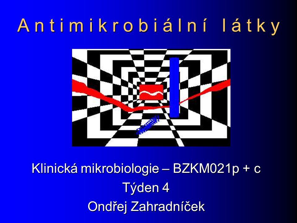 Aminoglykosidy Působí baktericidně v úvodu proteosyntézy Působí baktericidně v úvodu proteosyntézy Jsou ototoxické a nefrotoxické Jsou ototoxické a nefrotoxické Synergie s betalaktamy – snížení toxicity Synergie s betalaktamy – snížení toxicity Streptomycin se používá už jen jako antituberkulotikum.