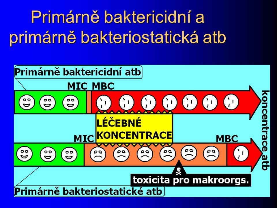 Glykopeptidová antibiotika Působí také na syntézu buněčné stěny, ale i na proteosyntézu.