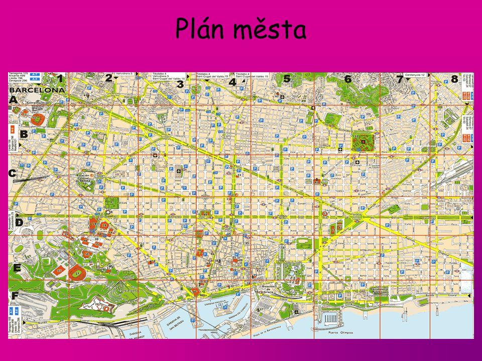 Plán města