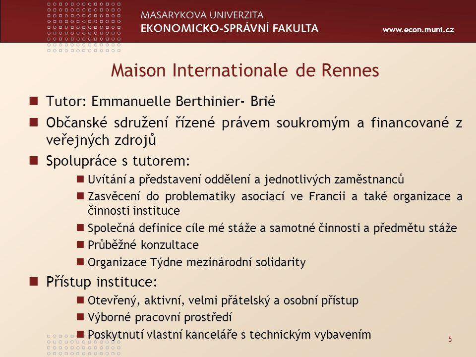www.econ.muni.cz Krajský úřad Jihomoravského kraje - Odbor regionálního rozvoje, Oddělení rozvoje venkova a zemědělství Tutor RNDr.