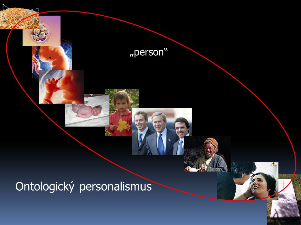 "Ontologický personalismus ""person"""