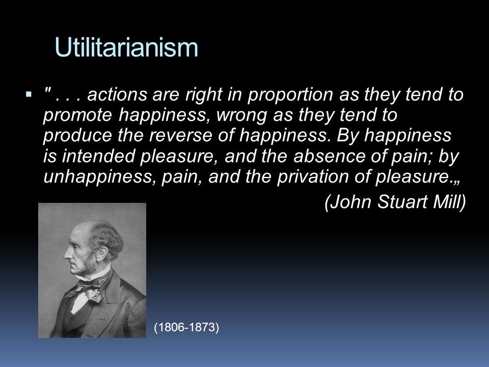Utilitarianism  ...