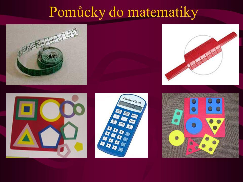 Pomůcky do matematiky