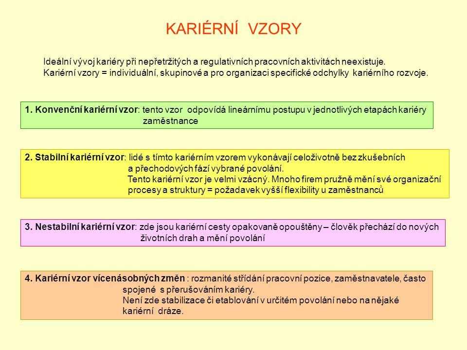 KARIÉRNÍ VZORY 1.