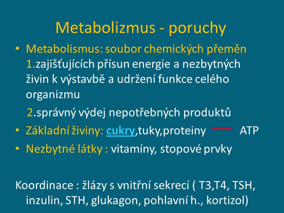 Doporučené dávky ( denní příjem) Voda : 2000 ml Makronutrienty : Cukry : 60% z celkového denního objemu Tuky: 30% z celkového denního objemu Bílkoviny : 10 % z celkového denního objemu 0,5 g/kg = bílkovinné minimum negativní dusíková bilance ( převaha metabolizování bílkovin) Mikronutrienty: vitamíny, stopové prvky