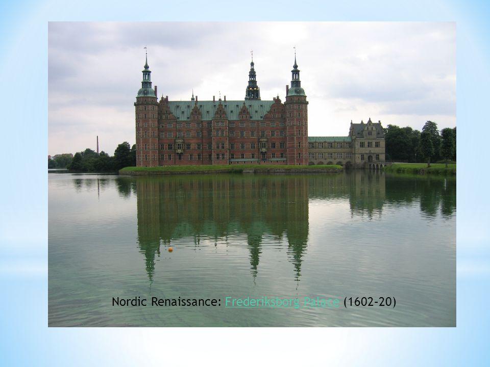 Nordic Renaissance: Frederiksborg Palace (1602–20)Frederiksborg Palace