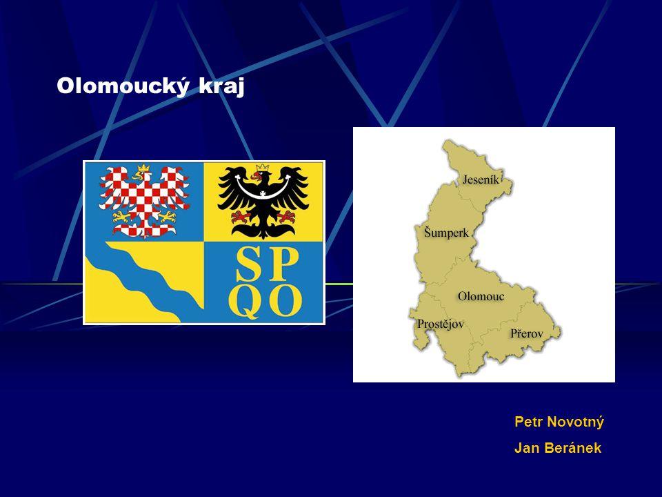 Poloha Olomoucký kraj se nachází na severovýchodě ČR.