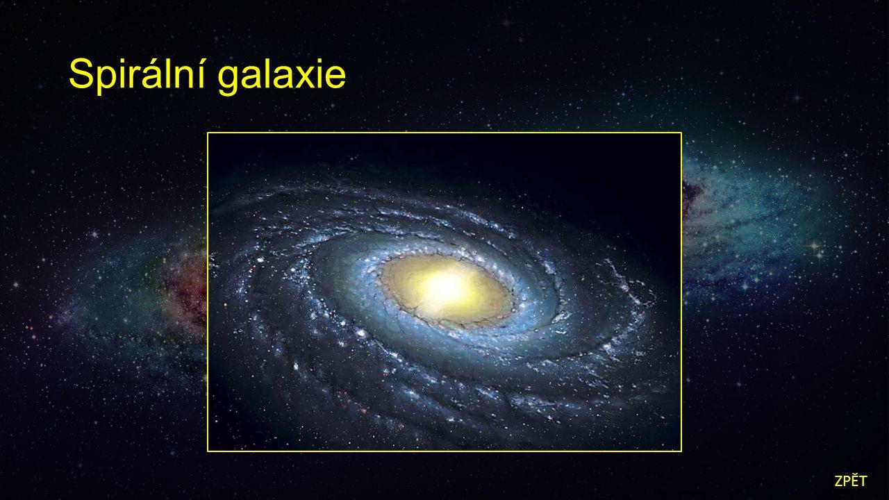 Spirální galaxie ZPĚT