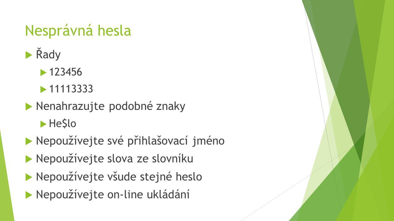 Test http://www.bezpecnyinternet.cz/zacatecnik/hesla/test.aspx?kurz=true
