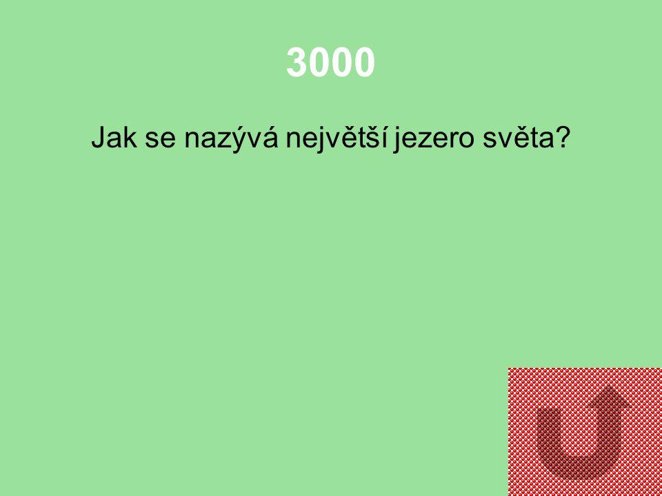 2000 Jak se nazývá nejdelší řeka světa