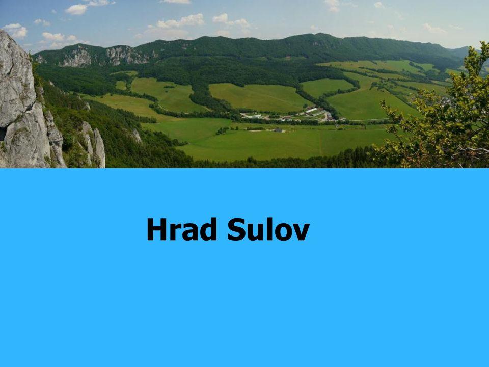 Na hradě Sulov Hrad Sulov