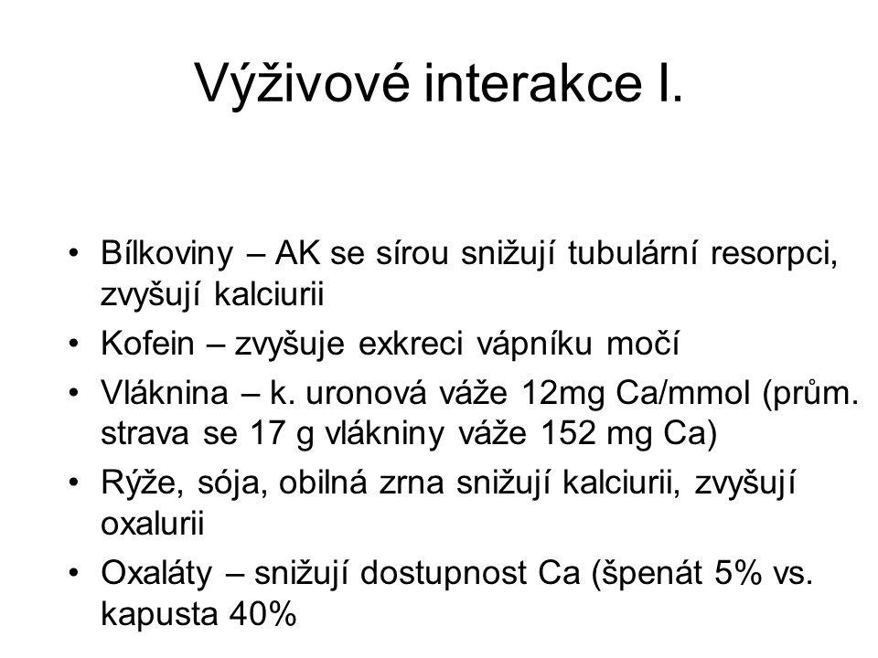 Zdroje vápníku v potravinách V. Obilniny mg/100 g Ovesné vločky 65 Suchary 55 Chléb 25