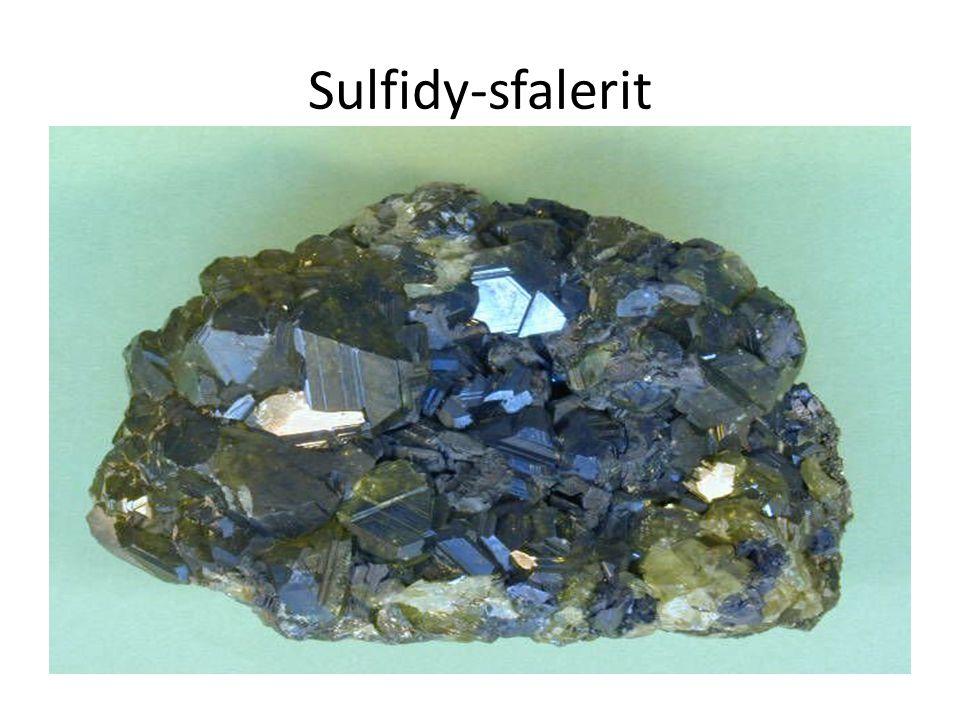 Sulfidy-sfalerit