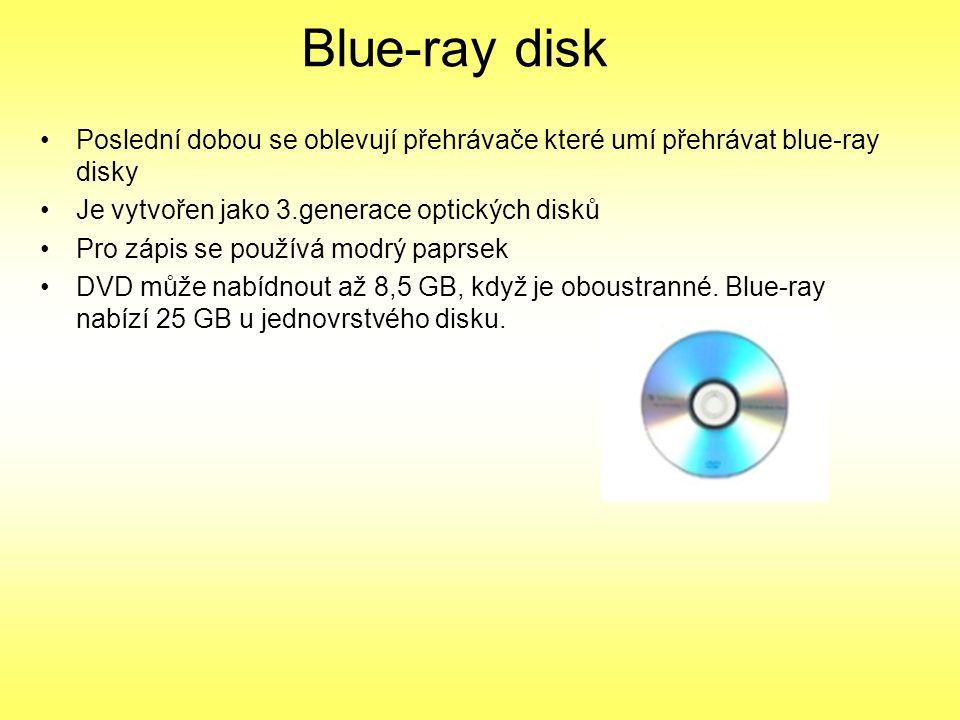 CD médium - Kdybyste ale chtěli zálohovat celý 80GB disk, potřebovali byste až 100 CD - Pro velké objemy dat je výhodnější DVD (80GB dat dostanete na 17 klasických DVD).
