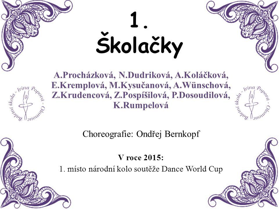 12. Serenáda Kristýna Nevrlá Choreografie: Irina Popova