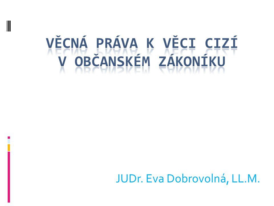 JUDr. Eva Dobrovolná, LL.M.