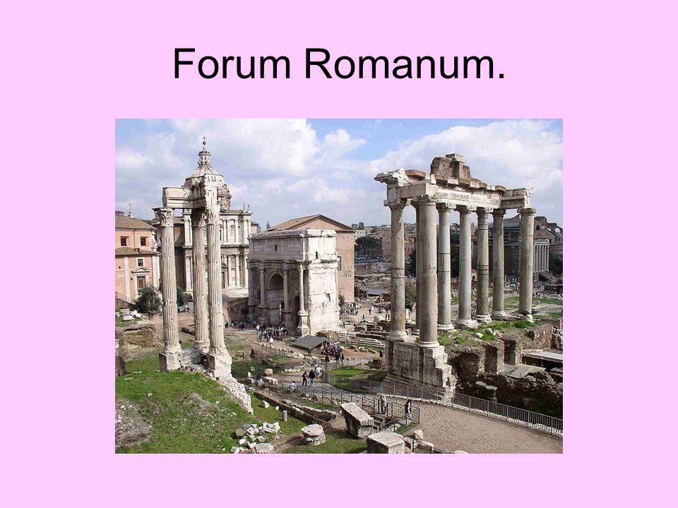 Forum Romanum.