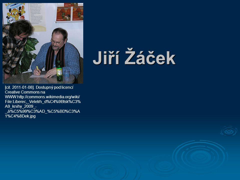 Představení:  český básník  redaktor, autor knih pro děti  autor pohádek pro Českou televizi