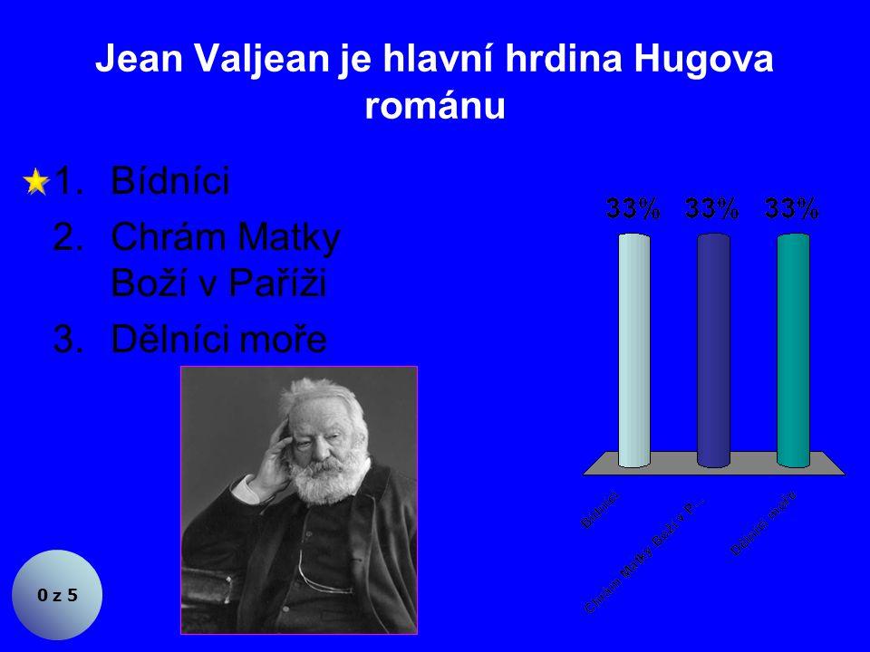 Za zakladatele francouzského romantismu je považován 0 z 5 1.Alfred de Musset 2.Alexandre Dumas st.