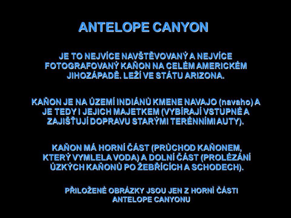 USA ANTELOPE CANYON ARIZONA