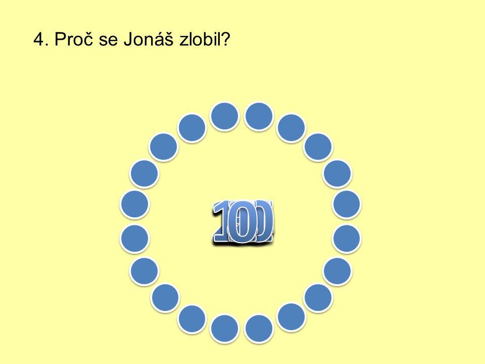 3. Kdo měl Jonáše poslechnout