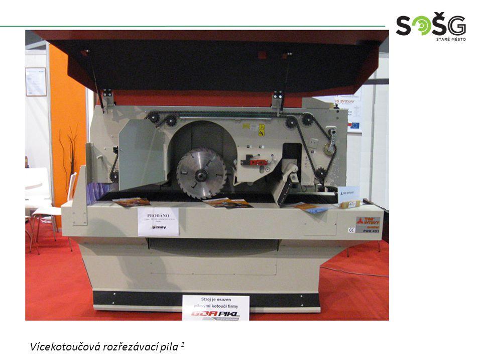 POUŽITÍ : Stroj je určen pro rozřezávání řeziva na několik přířezů najednou (hranolky, lišty).
