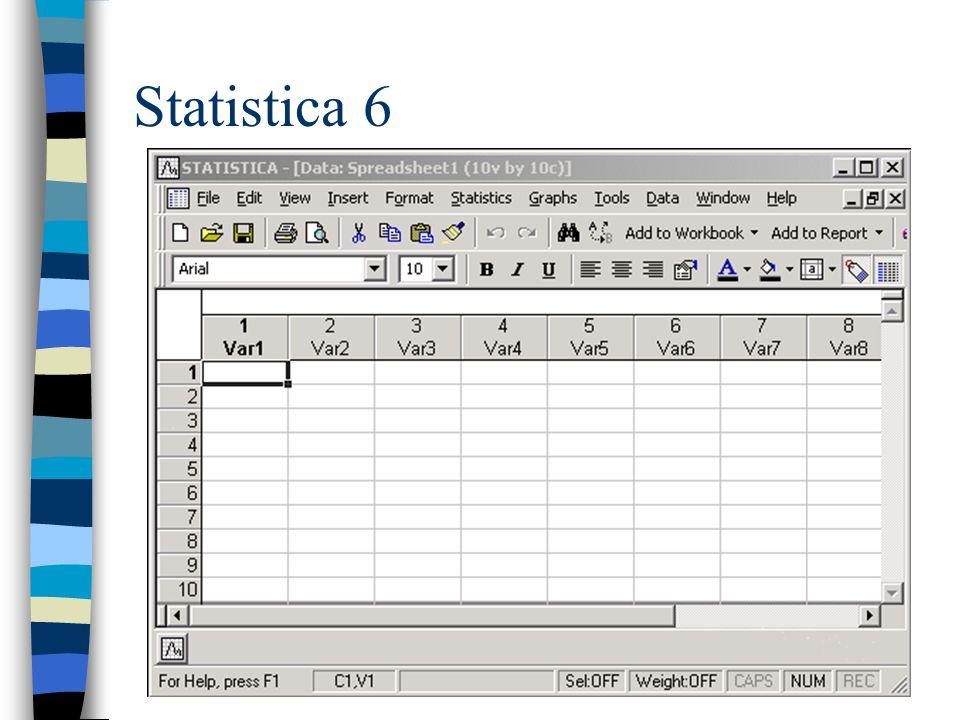 Statistica 6