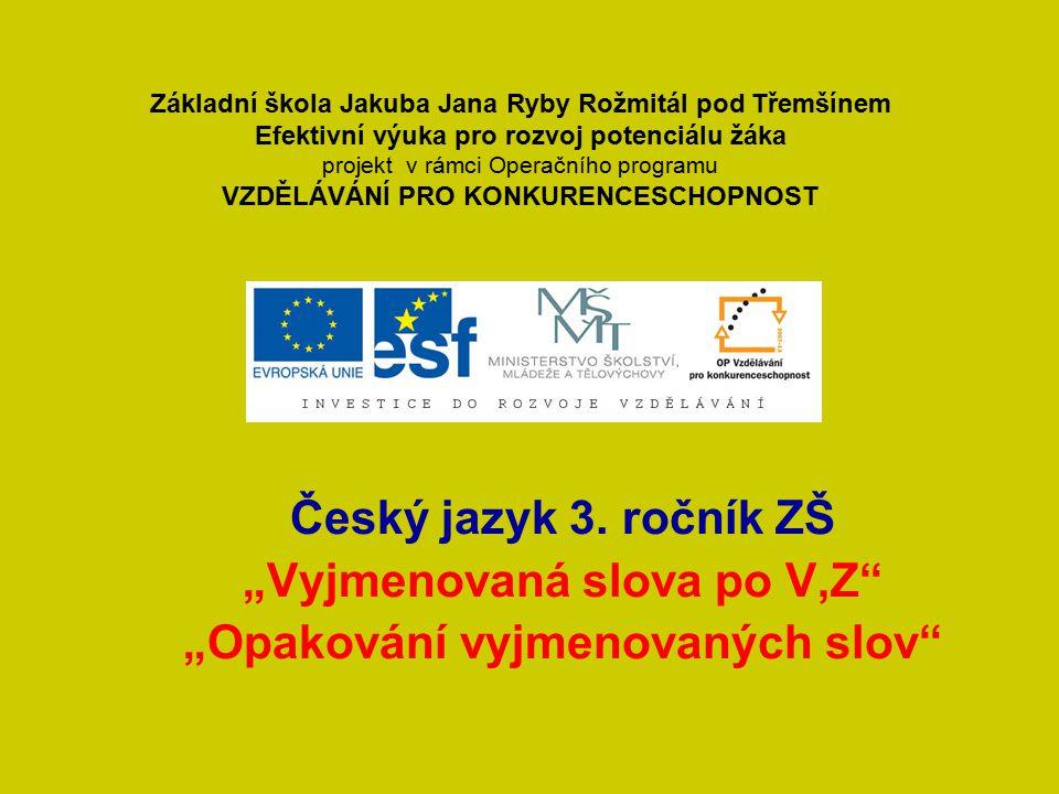 Poměr Český jazyk 3.