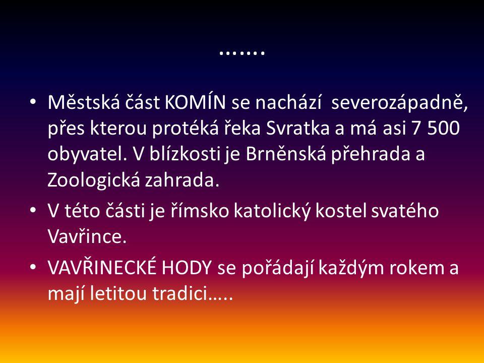 Vavřinecké HODY v Brně - Komíně 11.8. 2013